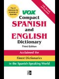 Vox Compact Spanish and English Dictionary, 3E (Vinyl) (Vox Dictionary Series)