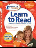 Hooked on Phonics Learn to Read - Level 1, 1: Early Emergent Readers (Pre-K Ages 3-4)