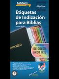 Spa-Spanish Rainbow Bible Inde: Spanish Rainbow Bible Tabs