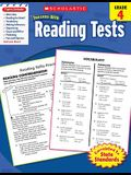 Reading Tests, Grade 4
