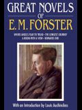 Great Novels of E. M. Forster: Where Angels Fear to Tread/The Longest Journey/A Room with a View/Howards End
