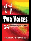 Two Voices: 54 Duet Scenes for Teens