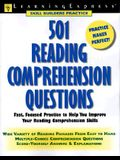501 Reading Comprehension Questions (Skill Builders Practice)