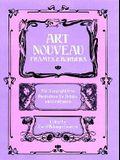 Art Nouveau Frames and Borders (Dover Pictorial Archive)