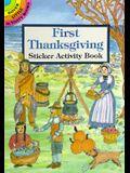 First Thanksgiving Sticker Activity Book