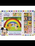 Disney Baby: First Look and Find Book & Blocks