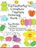 Ed Emberley's Complete Funprint Drawing Book: Fingerprint Drawing Book & Great Thumbprint Drawing Book