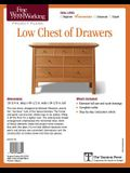 Fine Woodworking's Low Chest of Drawers Plan
