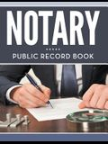 Notary Public Record Book