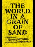 The World in a Grain of Sand: Postcolonial Literature and Radical Universalism