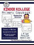 Kinder Kollege Primary Copybook: Handwriting