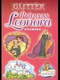 Glitter Princess Leonora Stickers