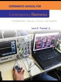 Experiments Manual For Contemporary Electronics
