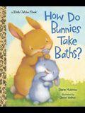 How Do Bunnies Take Baths?