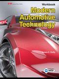 Modern Automotive Technology Workbook