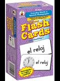 Everyday Words in Spanish: Photographic Flash Cards: Palabras de Todos Los Días: Fotográfico
