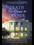Death Sits Down to Dinner: A Mystery