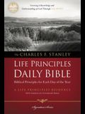 Charles F. Stanley Life Principles Daily Bible-NASB