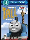 Thomas' Tall Friend (Thomas & Friends) (Step into Reading)