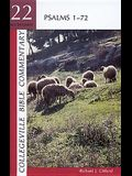 Psalms 1-72 (Collegeville Bible Commentary Old Testament 22) (Vol 22)