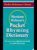 Merriam Webster's Pocket Rhyming Dictionary (Pocket Reference Library)