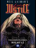 Neil Gaiman's Lady Justice Boxed Set: Vols. 1-2