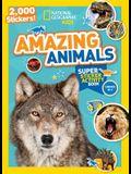 National Geographic Kids Amazing Animals Super Sticker Activity Book: 2,000 Stickers!