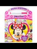 Disney Minnie Mouse - Write-And-Erase Look and Find [With Marker]