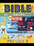 Bible Infographics for Kids(tm) Volume 2: Light and Dark, Heroes and Villains, and Mind-Blowing Bible Facts