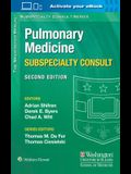 The Washington Manual Pulmonary Medicine Subspecialty Consult