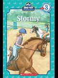Scholastic Reader Level 3: Stablemates: Stormy