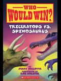 Triceratops vs. Spinosaurus (Who Would Win?), Volume 16