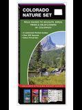 Colorado Nature Set: Field Guides to Wildlife, Birds, Trees & Wildflowers of Colorado