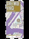 Streetwise Venice Map - Laminated City Center Street Map of Venice, Italy