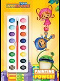 Painting Power! (Team Umizoomi) (Deluxe Paint Box Book)