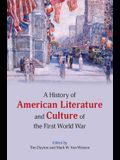 A History of American Literature and Culture of the First World War