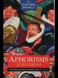 The Oxford Book of Aphorisms (Oxford Paperbacks)
