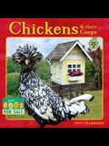 Chickens & Their Coops 2017 Wall Calendar