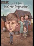 Que Fue La Gran Depresion?