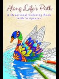 Along Life's Path: Devotional Coloring Book