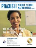 Praxis II Middle School Mathematics (0069) W/CD-ROM 2nd Ed.