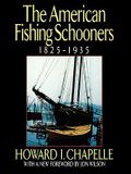 The American Fishing Schooners, 1825-1935