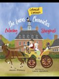 The Lucas Chronicles: Colonial Canines: Coloring Storybook