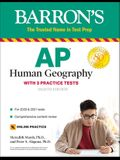 AP Human Geography: With 3 Practice Tests