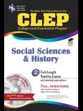 CLEP Social Sciences and History [With CDROM]