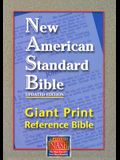 Giant Print Reference Bible-NASB