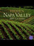 Hidden Napa Valley 2007 Calendar