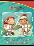 Efesios 6, Ephesians 6 - Bilingual Coloring and Activity Book: La Armadura de Dios - Cuaderno para colorear - Bilingüe