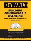 Dewalt Building Contractor's Licensing Exam Guide [With CDROM]