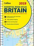 2019 Collins Essential Road Atlas Britain
